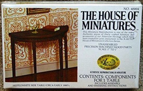 Picture of The House of Miniatures X-Acto Collector Series #40004