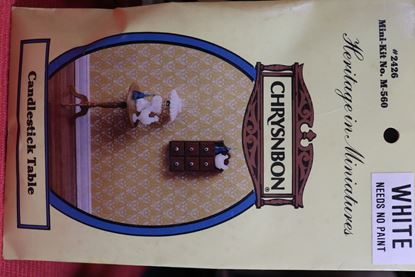 Picture of Chrysnbon Candlestick Table Kit Black