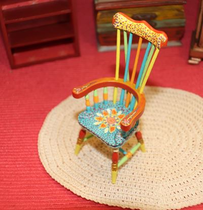 Picture of Dollhouse Miniature Chair by Fantastic Merchandise