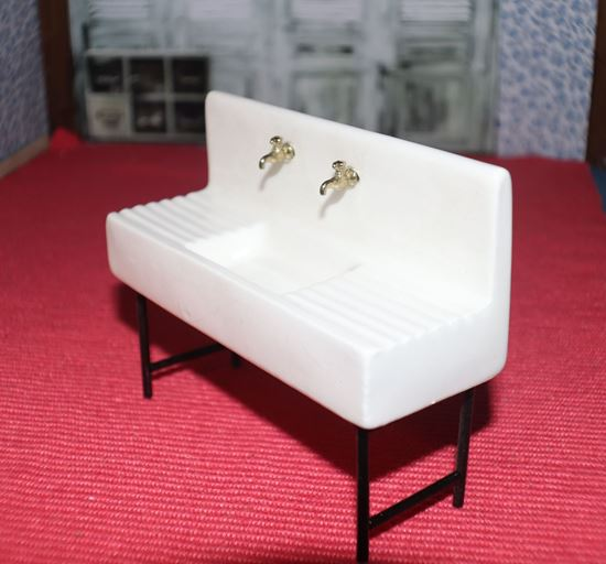 Picture of Miniature Porcelain Sink
