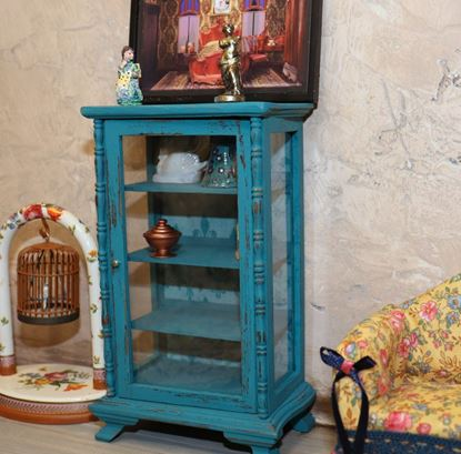 Picture of Dollhouse Curio Cabinet