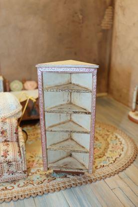 Picture of Dollhouse Rustic Corner Shelf