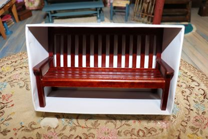 Picture of Dollhouse Wood Bench
