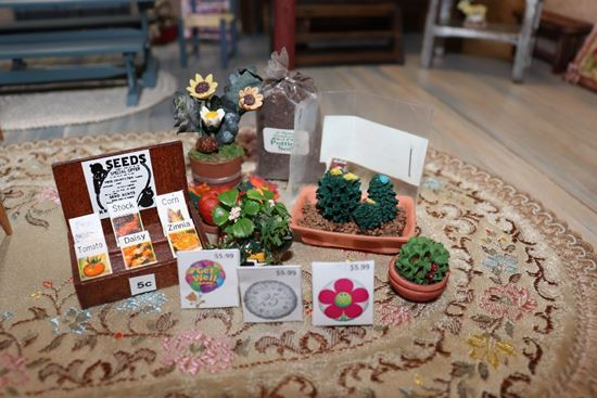 Picture of Miniature Plants and Seeds