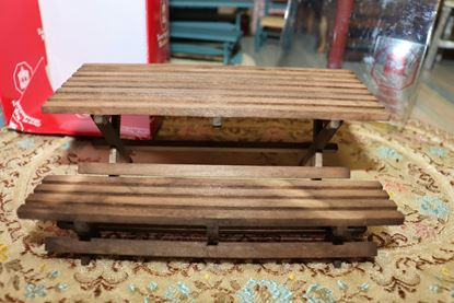 Picture of Dollhouse Bench and Table